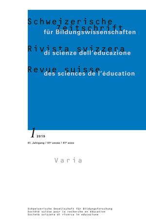 View Vol. 41 No. 1 (2019): Varia